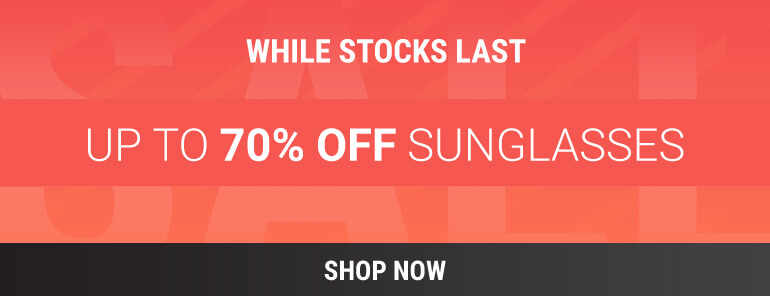 MARKDOWN SALE NOW ON: UP TO 70% OFF DESIGNER SUNGLASSES