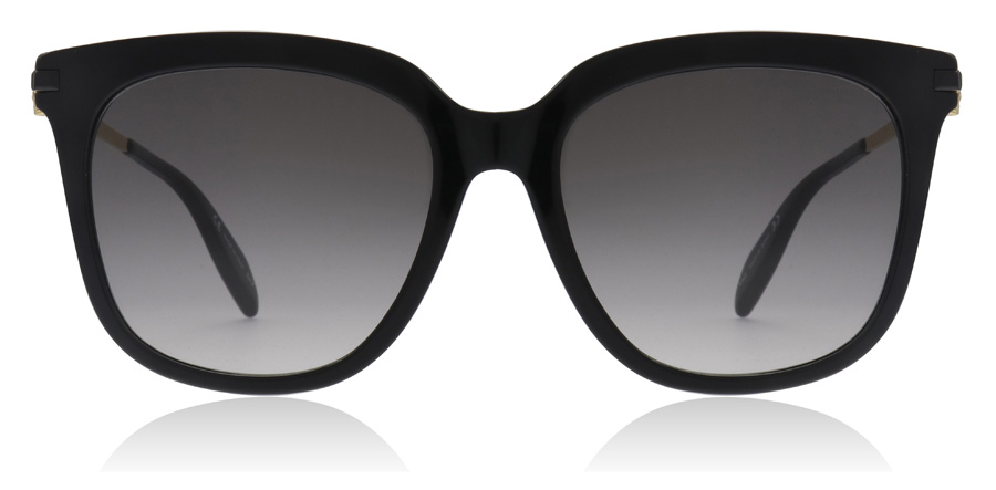 Alexander McQueen AM0107S Black 001 55mm