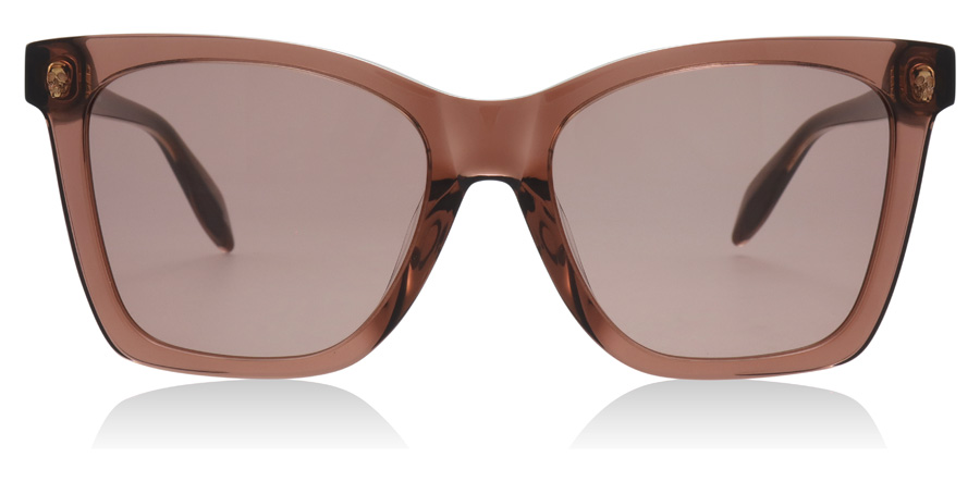 Alexander McQueen AM0238SA Brown / Pink 003 54mm