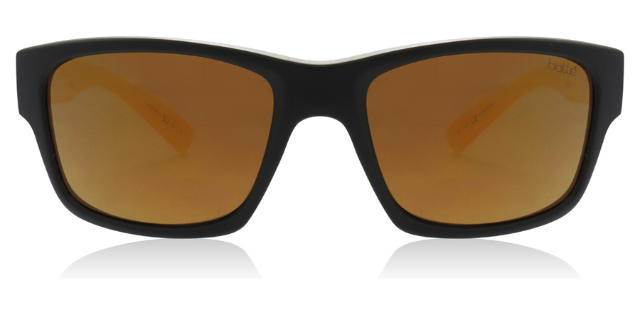 Bolle Holman Floatable 12465 Matte Black / Crystal Honey 58mm Polarised