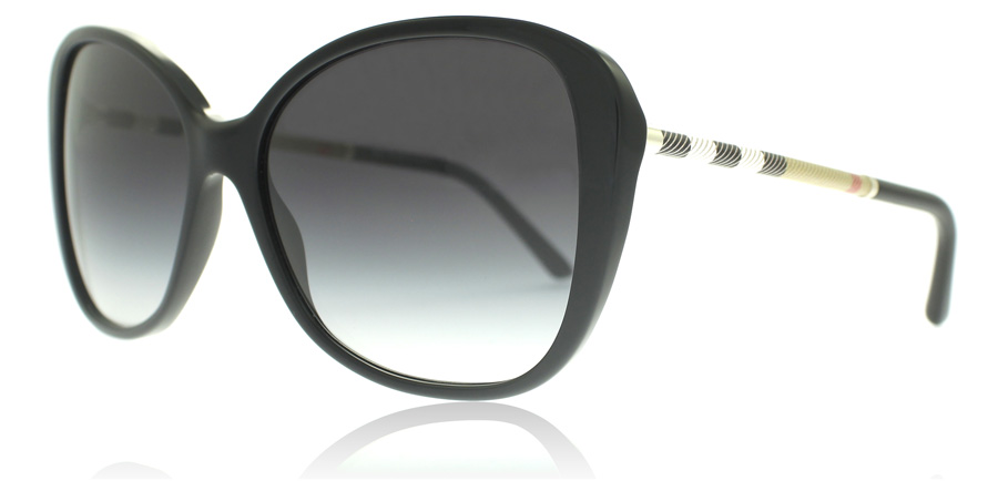 up-to-datestyling sale usa online choose genuine Burberry BE4235Q Black 30018G 57mm