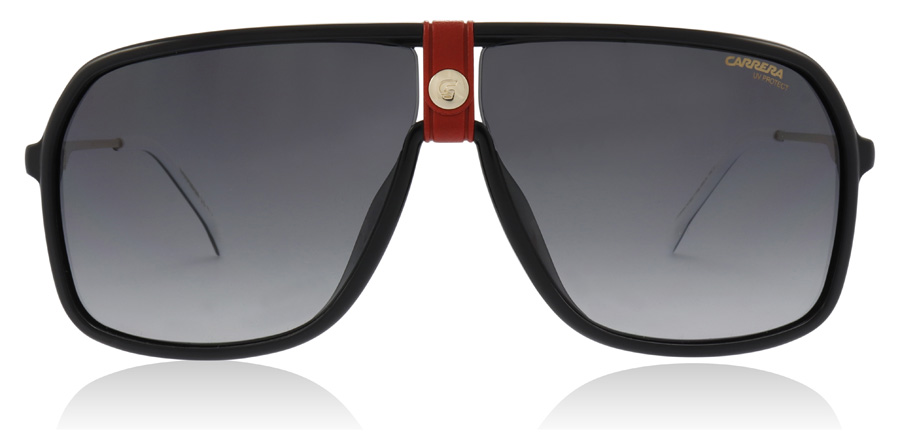 Carrera CARRERA 1019/S Black / Gold Red Y11 64mm