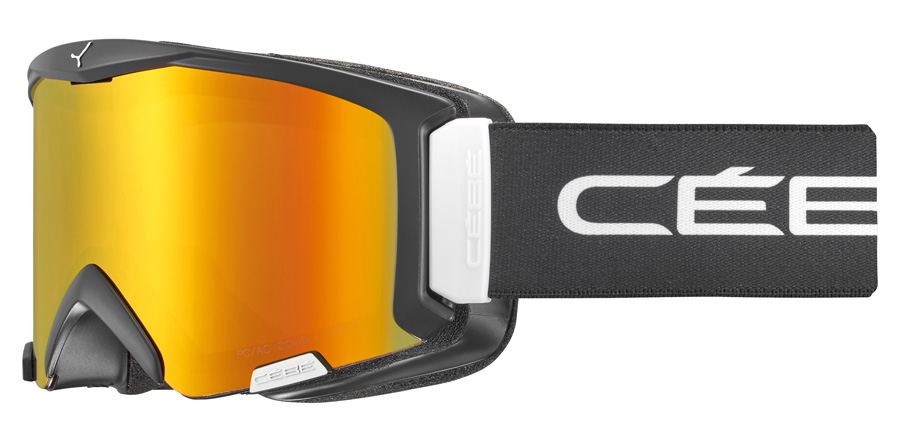 Cebe Junior Super Bionic CBG218 Matte Black / White 75mm
