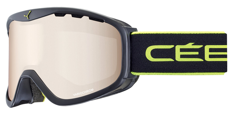 Cebe Ridge OTG CBG200 Matte Black / Lime 95mm