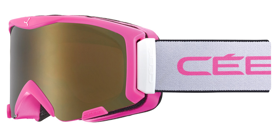 Cebe Junior Super Bionic CBG219 Matte Pink / Grey 75mm