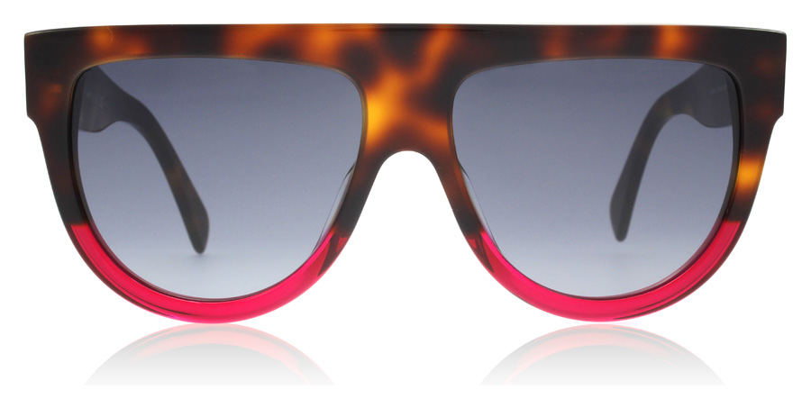 Celine Shadow CL41026/S Havana / Fuchsia 23A 58mm