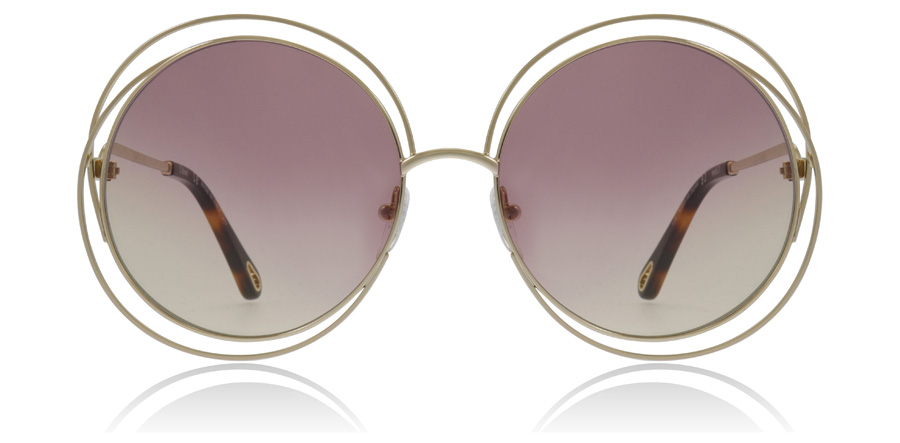 Chloe Carlina CE114SD Gold / Grad Rose 702 58mm
