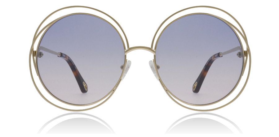 Chloe Carlina CE114SD Gold / Grad Azure 706 58mm