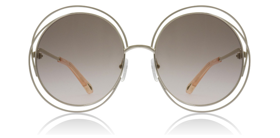 Chloe Carlina CE114SD Gold / Peach 724 58mm
