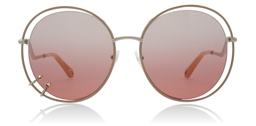 Chloe Wendy CE153S Rose Gold 843 59mm