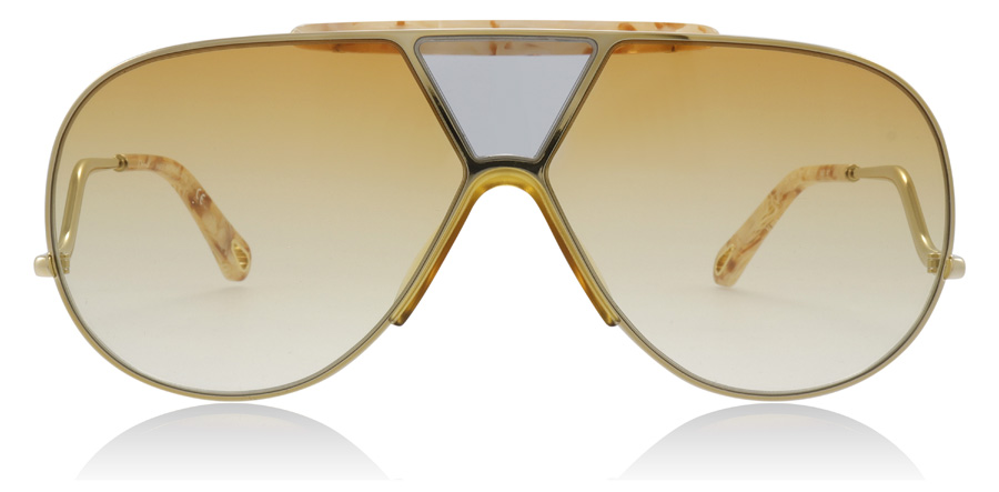 efd2a25a92 Chloe Willis Sunglasses : Willis Gold / Yellow CE154S 64Mm : UK