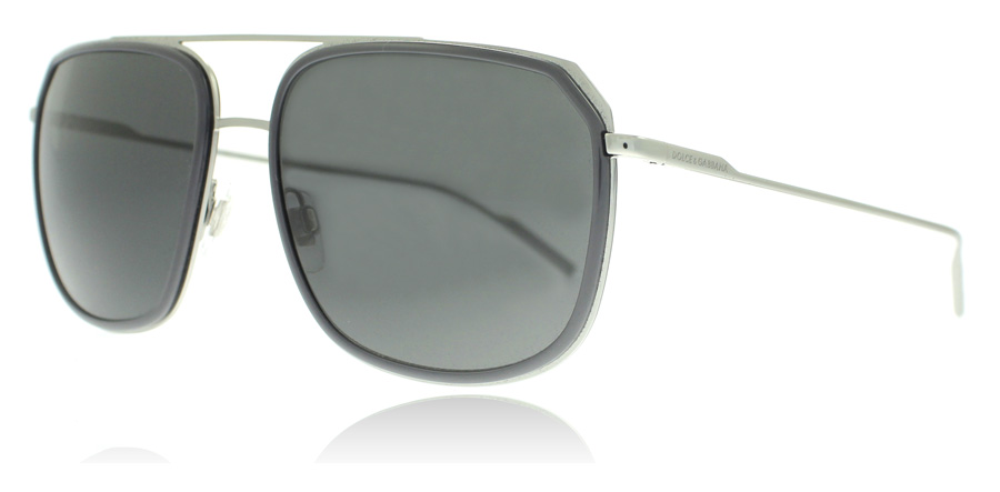 Dolce and Gabbana DG2155 Sonnenbrille Grau 1295F9 56mm OKw3wFwh