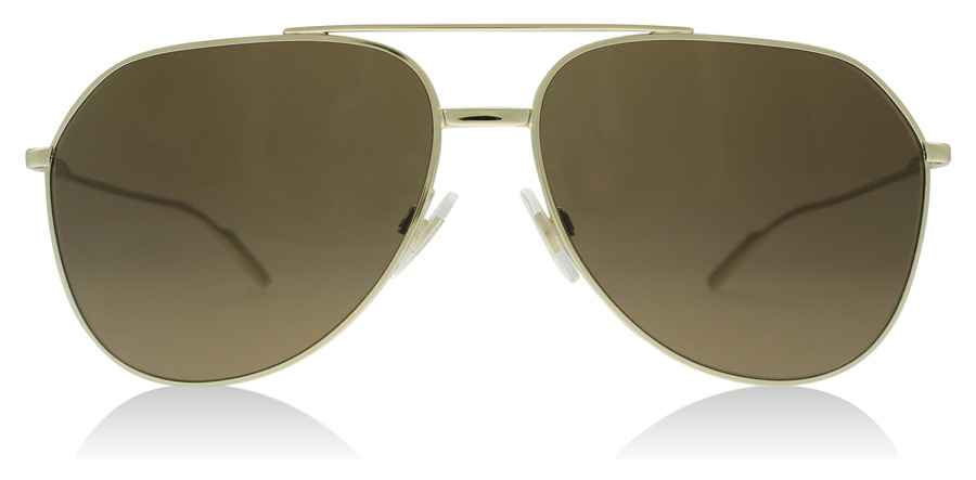 Dolce and Gabbana DG2166 Pale Gold 488/73 61mm