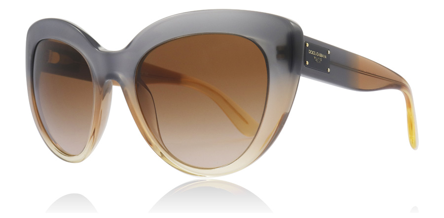 Dolce and Gabbana DG4298 Sonnenbrille Beige 310273 42mm nD6MaoWo