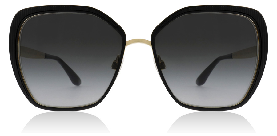 Dolce and Gabbana DG2197 Matte Black / Gold 1312/8G 56mm