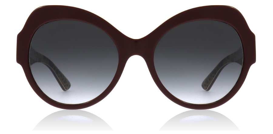Dolce and Gabbana DG4320 Bordeaux / Leo 31568G 56mm