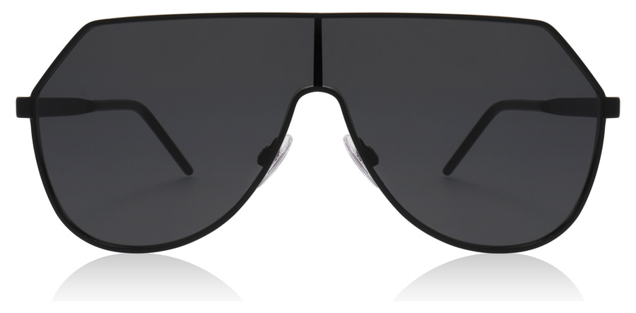 Dolce and Gabbana DG2221 Matte Black 110687 38mm