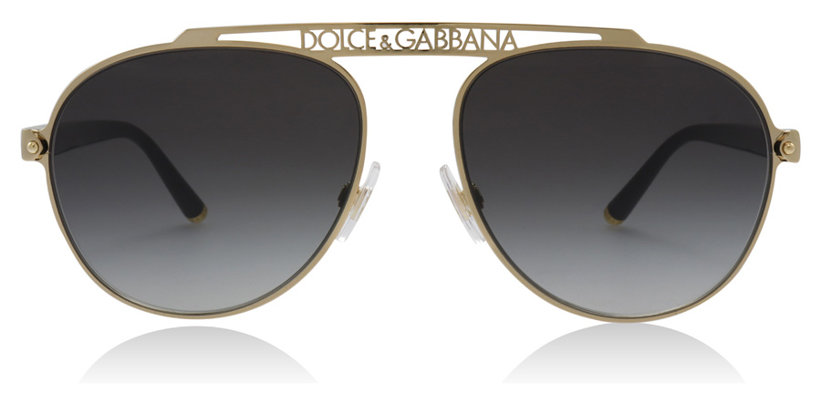 Dolce and Gabbana DG2235 Gold 02/8G 57mm