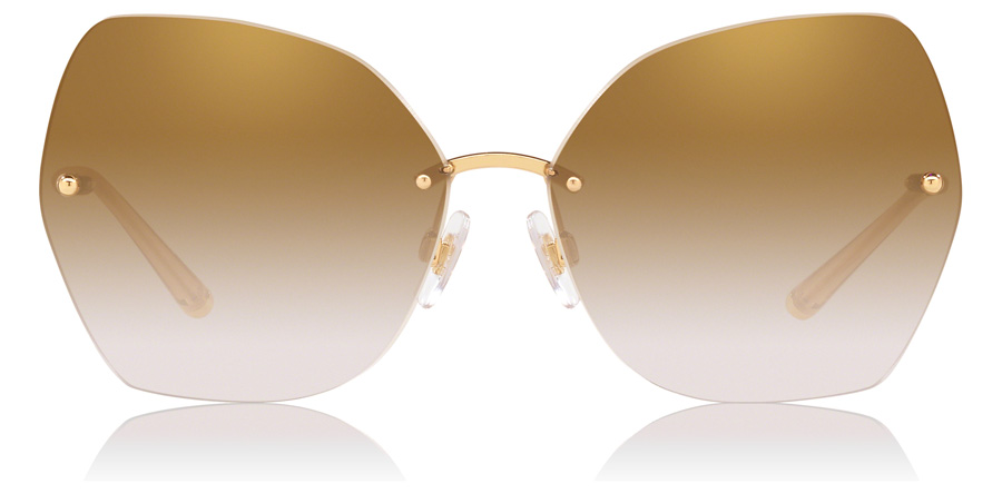 Dolce and Gabbana DG2204 Gold 026E 64mm