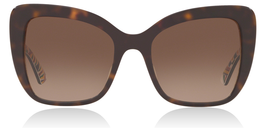 Dolce and Gabbana DG4348F Tortoise 321713 54mm