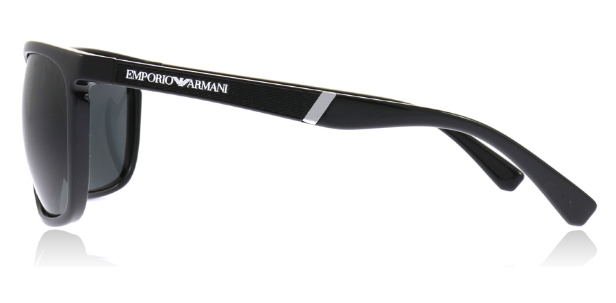1831825d549e Emporio Armani EA4107 Sunglasses   EA4107 Black EA4107 59Mm   UK