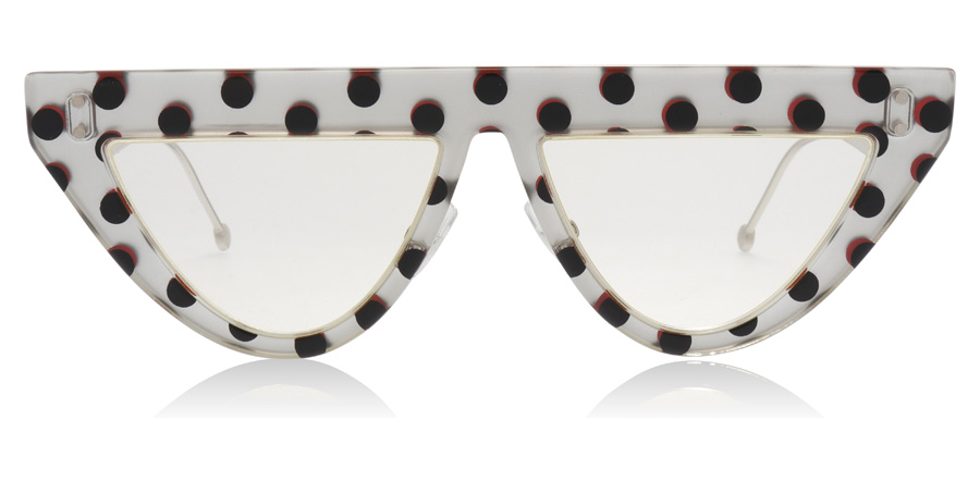 Fendi FF0371/S Silver Dots 2BS 53mm