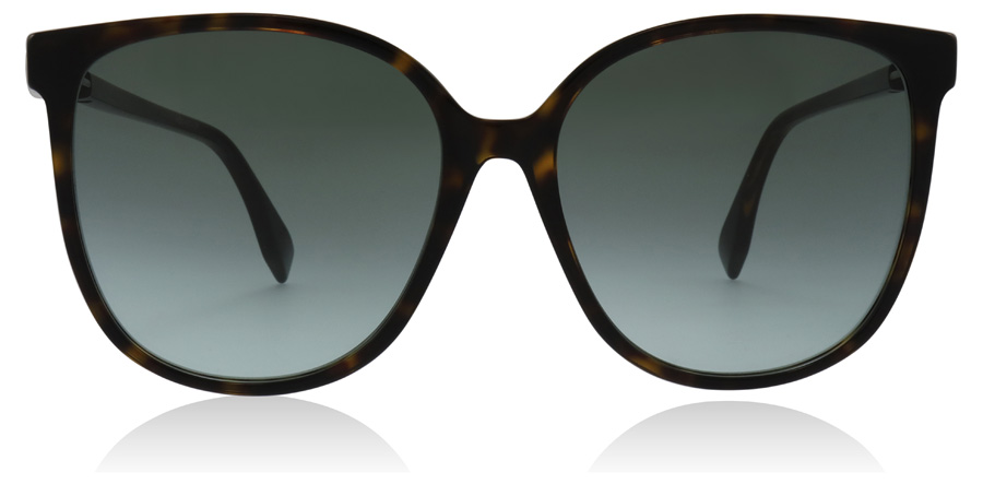 Fendi FF0374/S Dark Havana 086 58mm