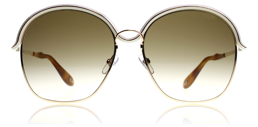 0f3fe78a6064 Givenchy 7030/S Sunglasses : 7030/S Gold Beige 7030/S 58Mm : UK