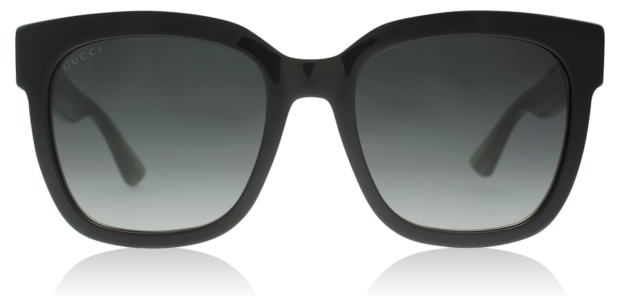 Gucci 0034S Black 002 54mm