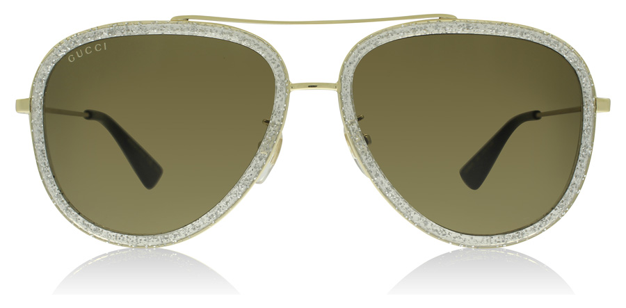 Gucci GG0062S 0062S Gold 004 57mm