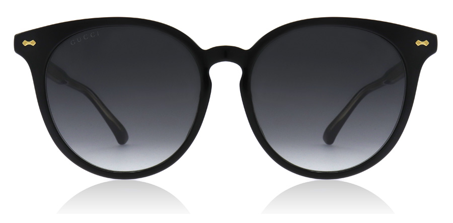 ddb373bfd3d95 Gucci GG0195SK Sunglasses   GG0195SK Black GG0195SK 55Mm   UK
