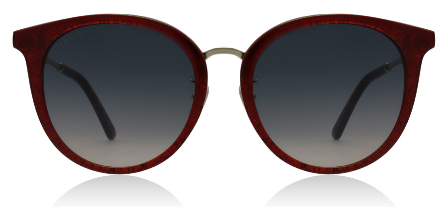 Gucci GG0204SK Red / Gold 005 56mm