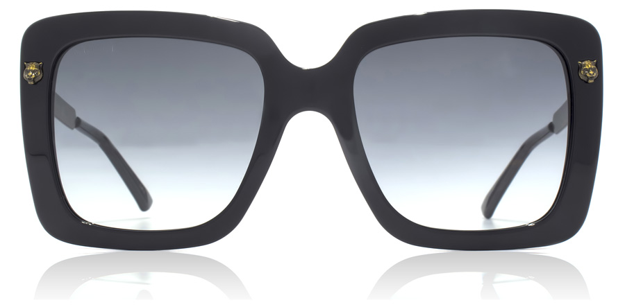 Gucci GG0216S Shiny Black 001 53mm