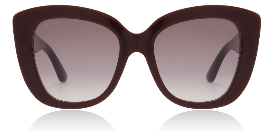 Gucci GG0327S Burgundy 006 52mm