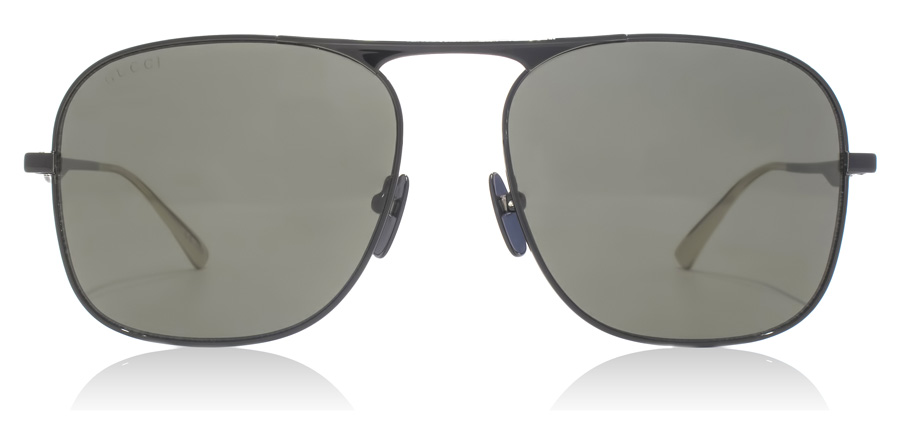 Gucci GG0335S Solid Black 002 58mm