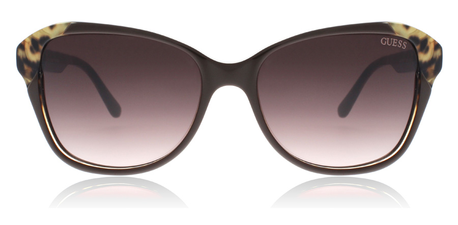 Guess GU7444 Sonnenbrille Braun transparent 45F 58mm CR7lEHnYfz