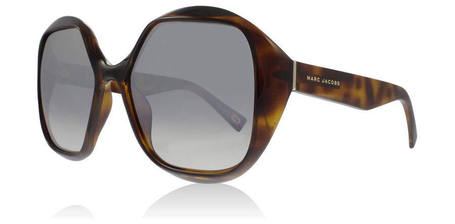 Marc Jacobs MJ195/S Sonnenbrille Havanna / Grau 086IC 57mm Z1kAMLRe