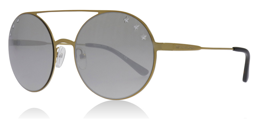 Compare prices for Michael Kors MK1027 Sunglasses Pale Gold 11936G 55mm
