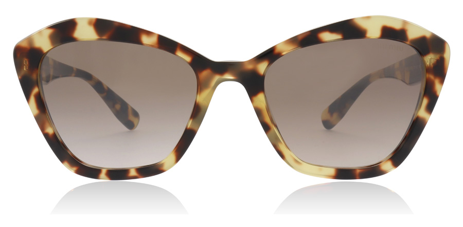 Miu Miu MU05US Light Havana 7S0QZ9 55mm