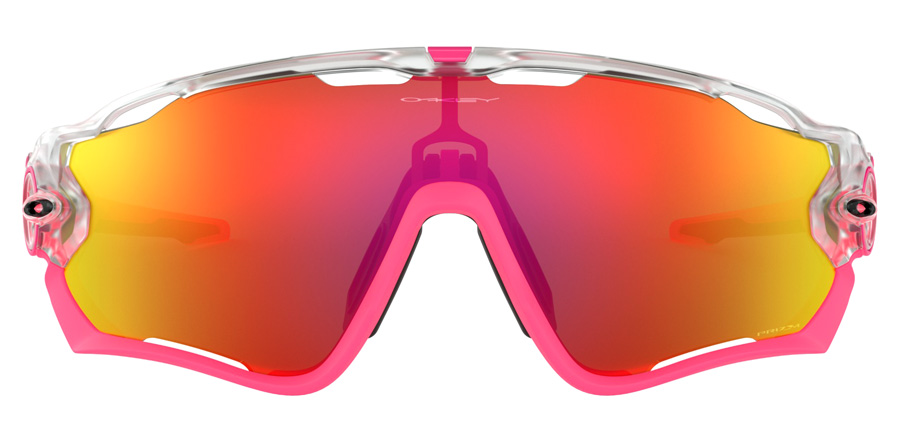 Oakley Jawbreaker OO9290 Matte Clear / Prizm Ruby 39 31mm