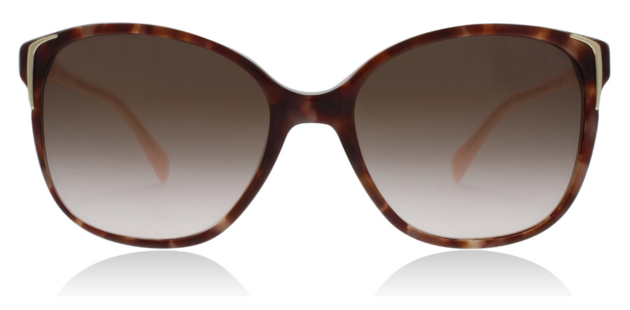 Prada PR01OS Spotted Brown / Pink UE00A6 55mm