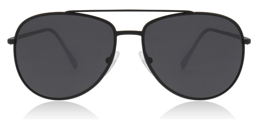 Prada Sport PS55US Black Rubber DG05S0 57mm