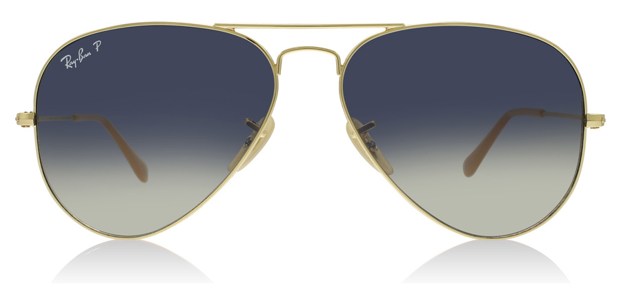 Ray-Ban Aviator RB3025 Gold 001/78 58mm Polarised