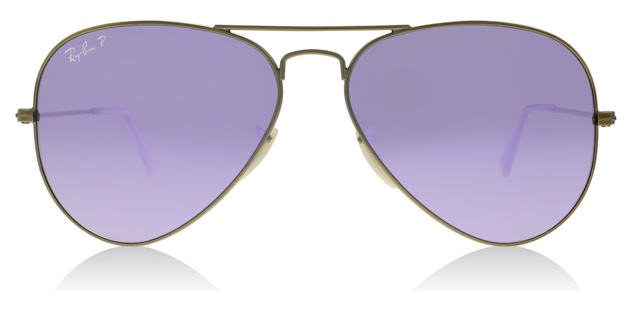Ray-Ban Aviator RB3025 Brushed Bronze 167/1R 58mm Polarised