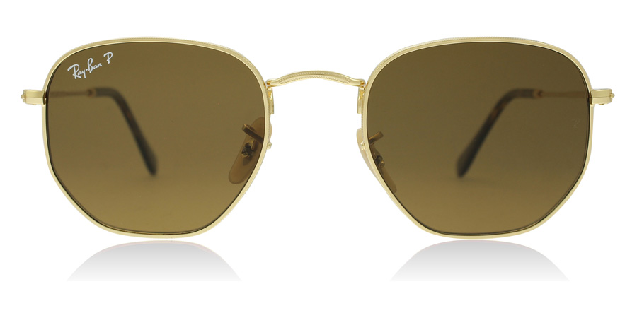 Ray-Ban RB3548N Gold 001/57 51mm Polarised