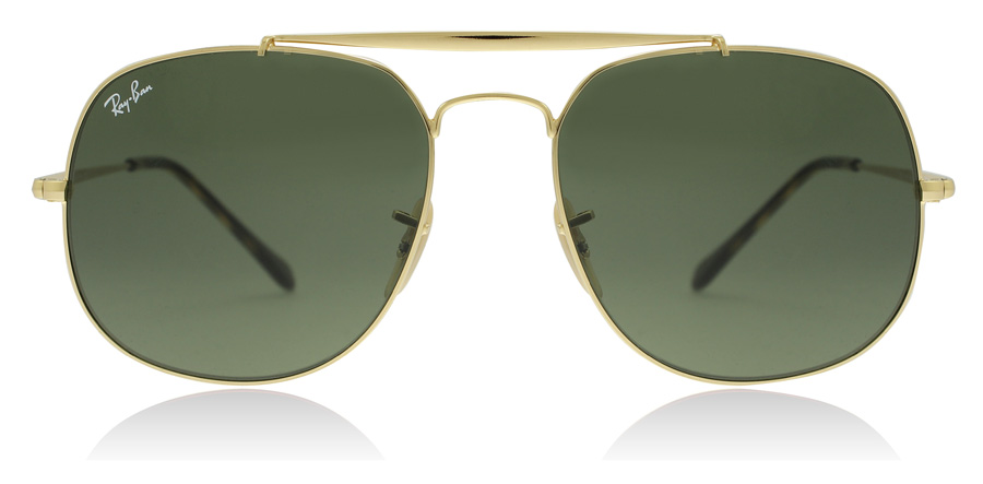 Ray-Ban RB3561 Gold 001 57mm