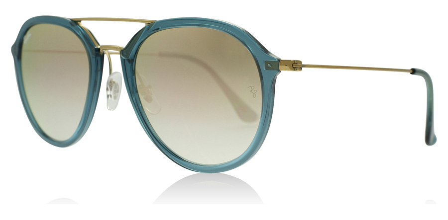 RayBan 4253 Sunglasses Turquoise 62367Y 53mm