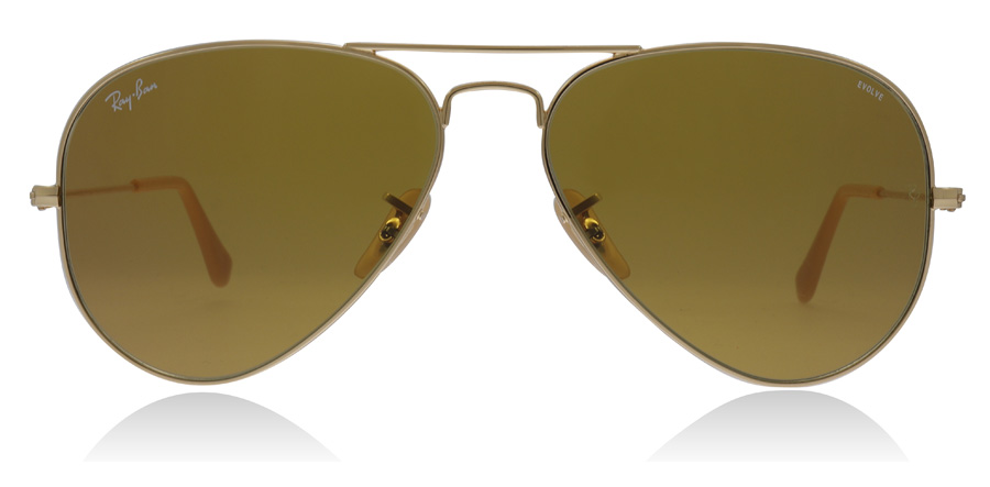 Ray-Ban RB3025 Gold 90644I 58mm