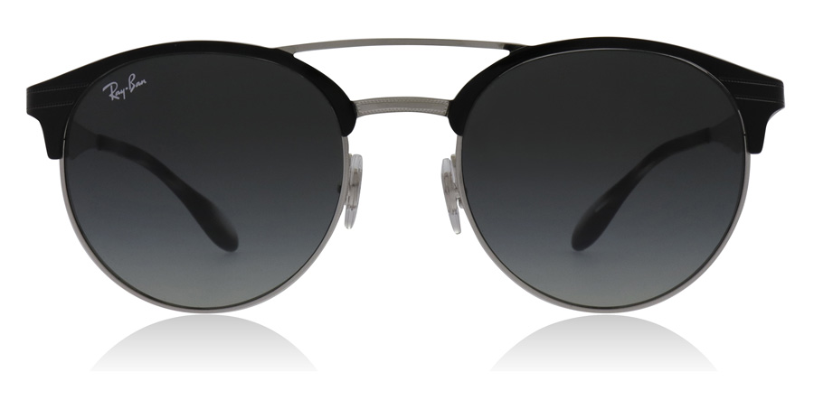4c1d6f81d8d Ray-Ban RB3545 Sunglasses   RB3545 Top Black On Silver RB3545 51Mm   UK