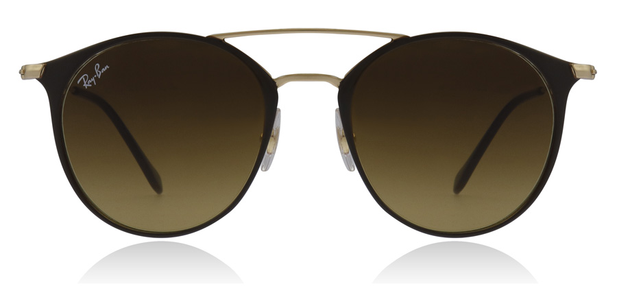 Ray-Ban RB3546 Gold Top Brown 900985 49mm